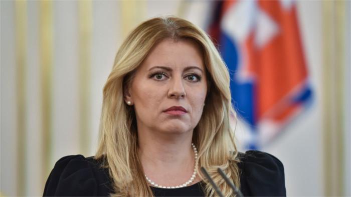 Präsidentin Čaputová fordert mehr Mut in der Justiz