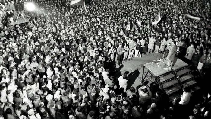 Eslovaquia se sumerge en las fiestas de aniversario de la Revolución