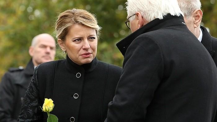 30 Jahre Mauerfall: Präsidentin der Slowakei besuchte Berlin