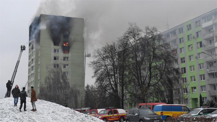 Explosion meurtrière dans l'Est de la Slovaquie
