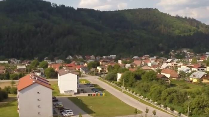 Teplička nad Váhom - obec Žofie Bosniakovej