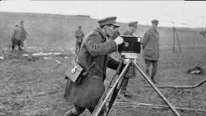 Prvý kameraman na fronte v I. svetovej vojne