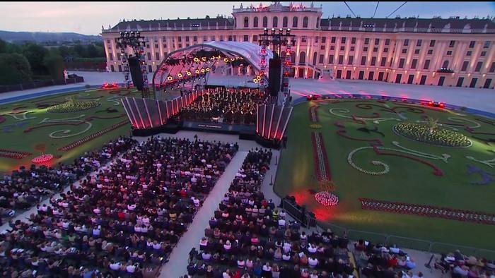 Letný koncert zo Schönbrunnu