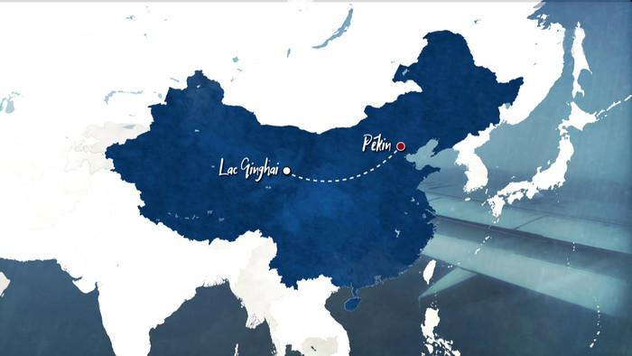 Čína, krajina farieb