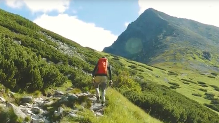 S batohom cez hory