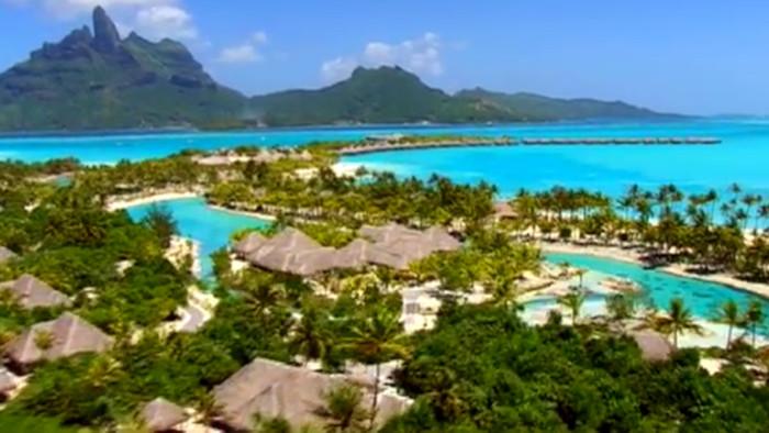 Láska na ostrove  Bora Bora