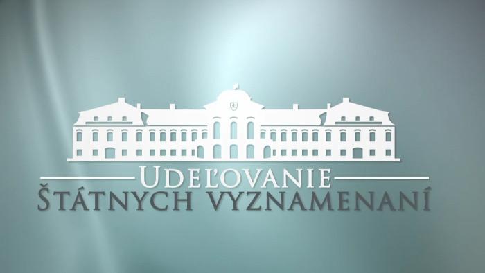 Odovzdávanie štátnych vyznamenaní k 25. výročiu vzniku SR prezidentom SR