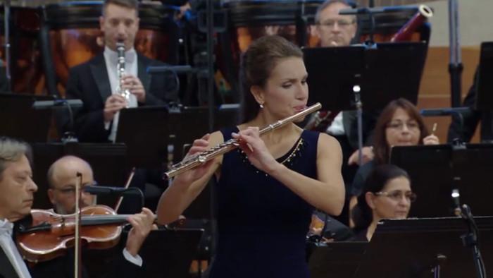 Koncert SOSR a sólistov V4