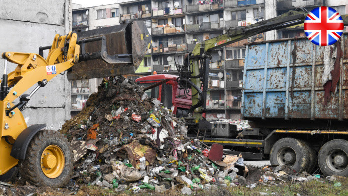 About 11,000 people live near garbage dumps