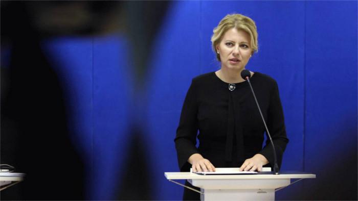 Президент З. Чапутова призвала зарубежных словаков принять участие в выборах