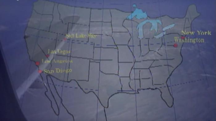 Z Utahu do Kalifornie