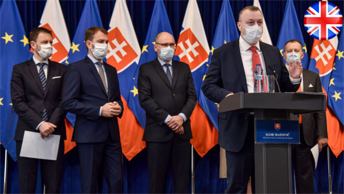 Economic package for Slovakia introduced