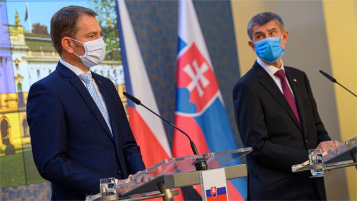 Slovak Prime Minister in Czech Republic
