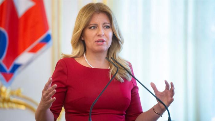 President Čaputová most trusted politician in Slovakia