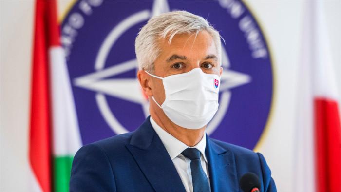 El ministro Korčok acompaña a la presidenta en la cumbre de OTAN en Bruselas