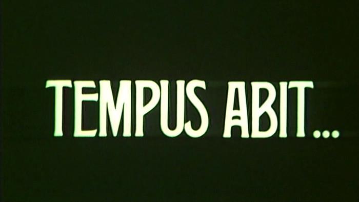 Tempus abit...
