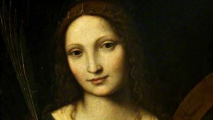 Svätá Katarína Alexandrijská