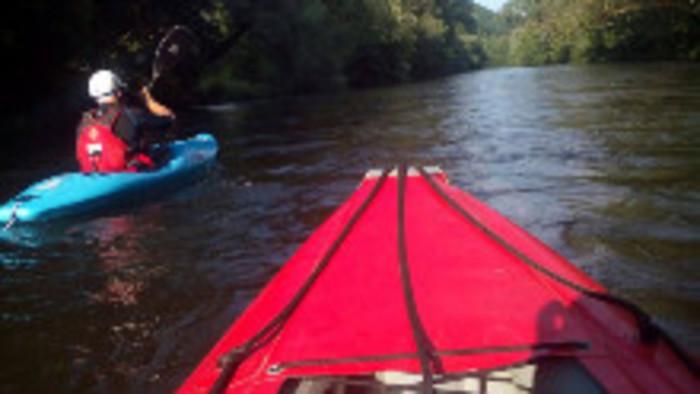 Splav rieky Hornád