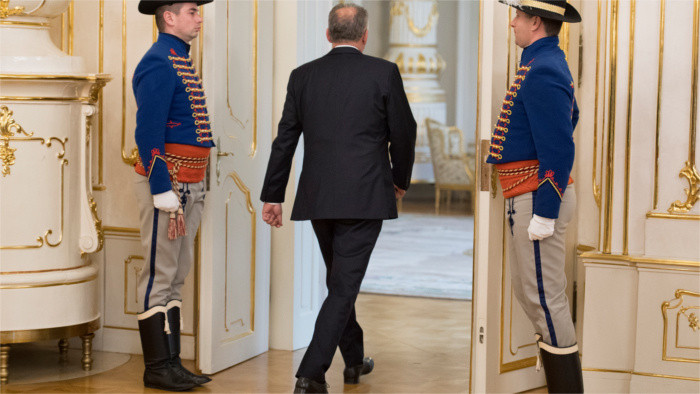 Kiska se despide del cargo del presidente del país