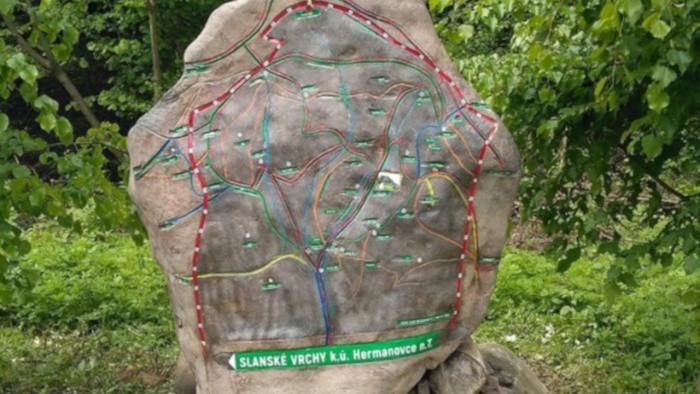 Kamenná mapa Hermanovce