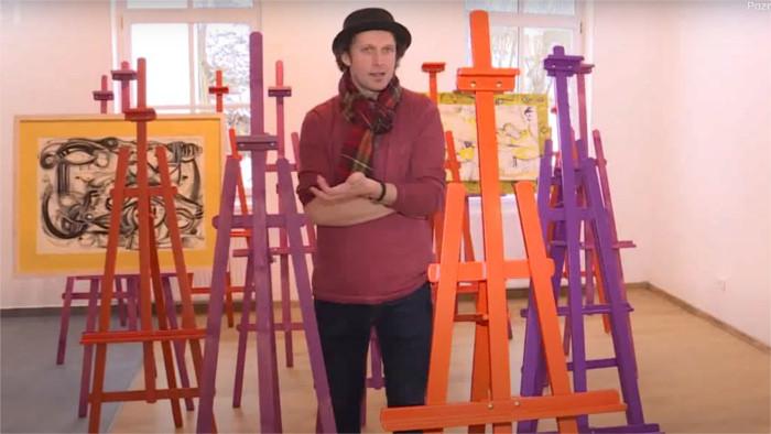 Luka Brase – junger slowakischer Maler, der seinen Traum lebt