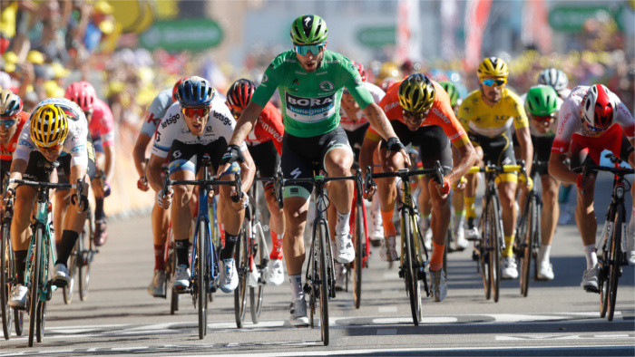 Peter Sagan wins Stage 5 of Tour de France