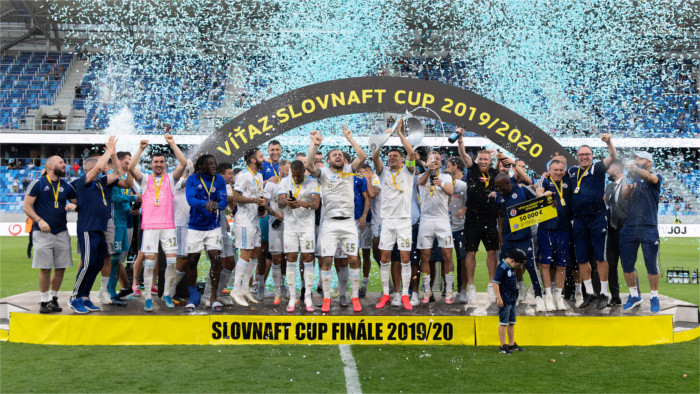 Slovan Bratislava wins the Slovak Cup