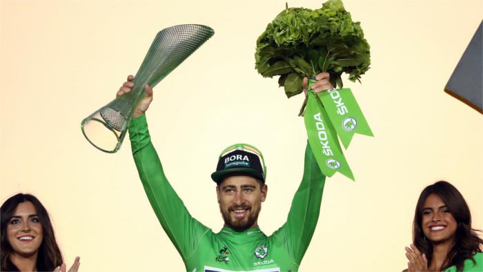 Maillot verde para Peter Sagan