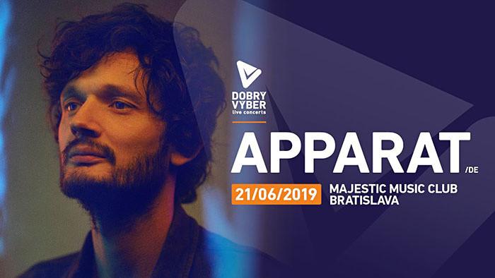 Apparat prichádza opäť na Slovensko