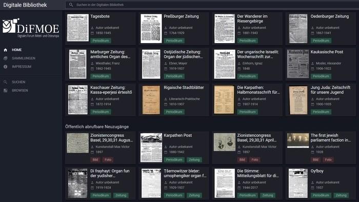Digitalisierung historischer deutschsprachiger Bestände