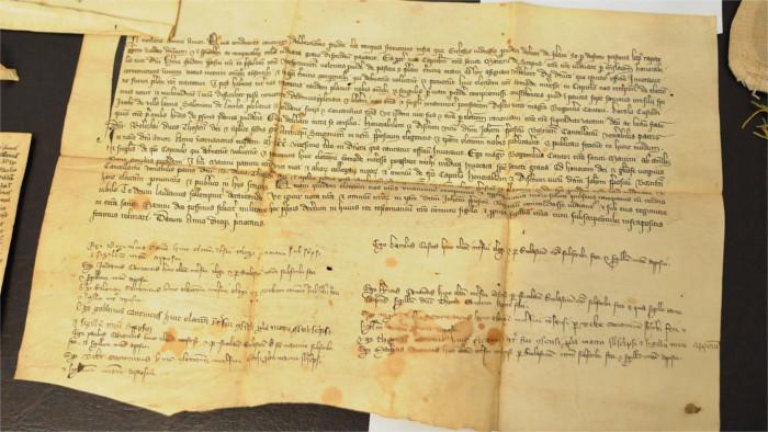 Средневековый архив в Спишском Капитуле