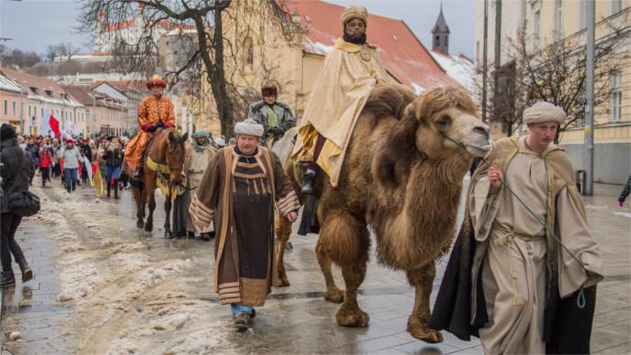 6 января католики отмечают День Трёх королей