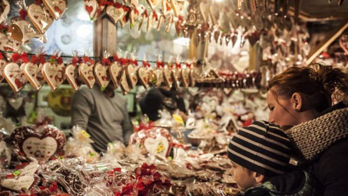 Le marché de Noël de Bratislava, Slovaquie