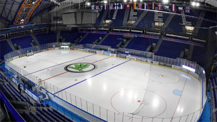 Kosice, capitale de la République du hockey