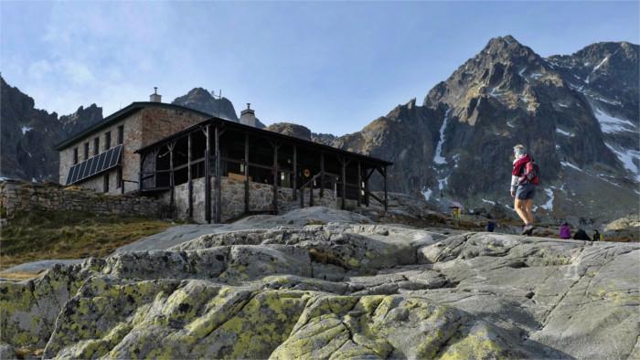 Les refuges de hautes montagnes Zbojnícka et Téryho ajoutés à Street View