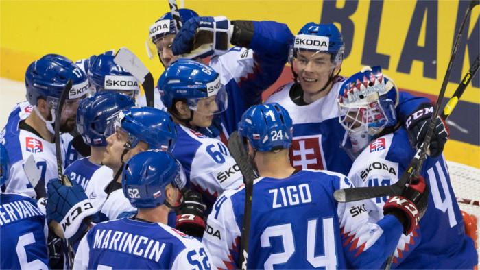 Eslovaquia da la primera sopresa del Mundial y se impone ante EE UU 4:1