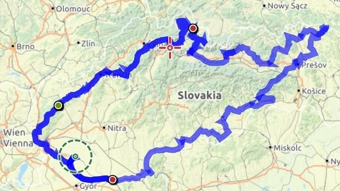 Szlovákiai túra egy szál biciklivel