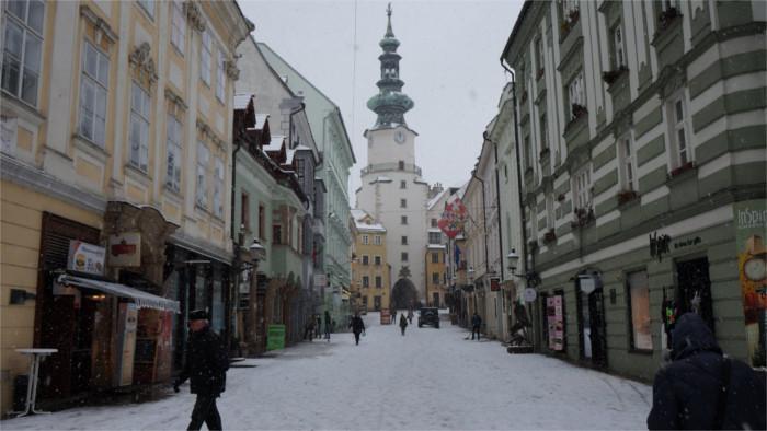 Les charmes de la Slovaquie en hiver