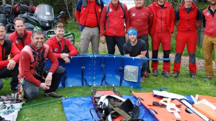 Los rescates de montaña español, croata y eslovaco intercambiaron sus experiencias