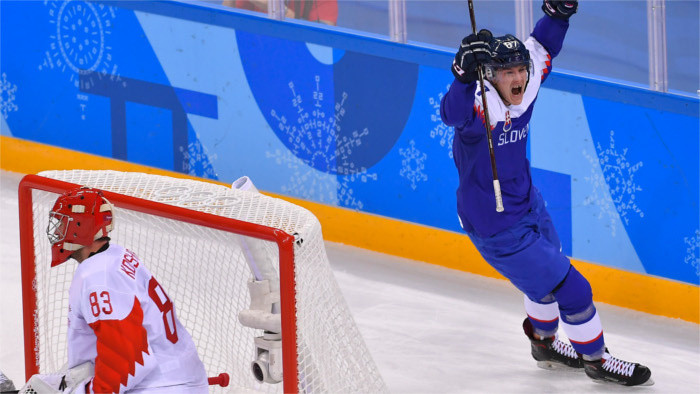 Les hockeyeurs slovaques ont battu un grand favori des JO