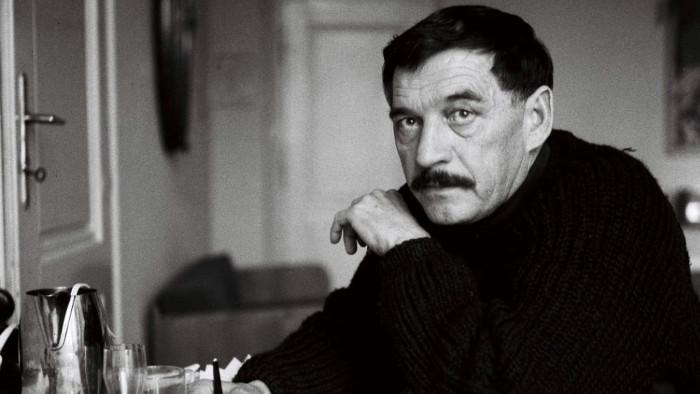 L'un des rares dissidents slovaques Dominik Tatarka
