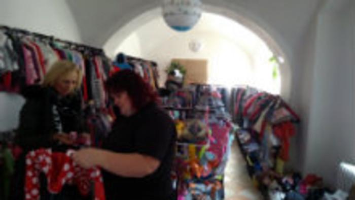 Charity shop v Košiciach