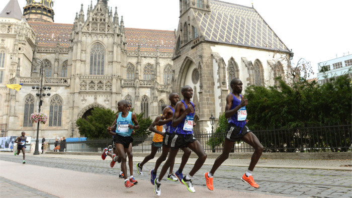 6500 runners for Kosice Peace Marathon
