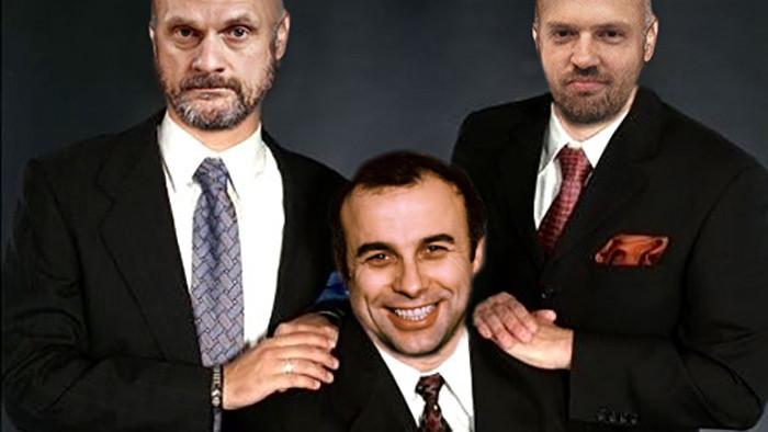 Baláž, Hubinák a Ivan Mládek.