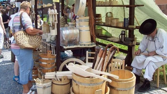 Umeleckí remeselníci na lazoch