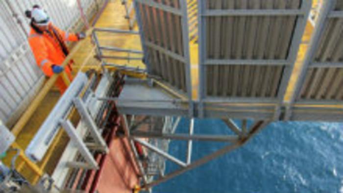 Nórsko - na ropnej plošine