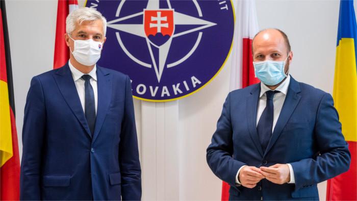 Slowakei wartet auf aktualisierte Verteidigungsstrategie