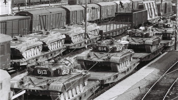 Soviet soldiers left Czechoslovakia 30 years ago