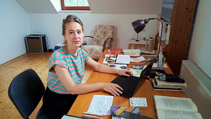 Artist in Residence: Leipziger Autorin kreativ in Šamorín