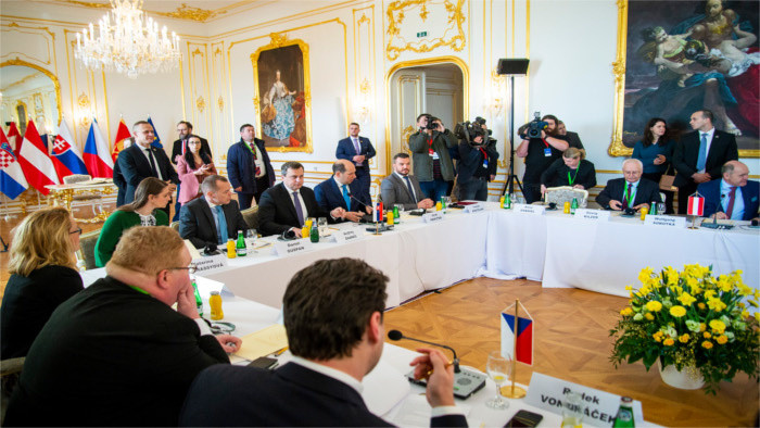 Встреча глав парламентов S3 в Братиславе